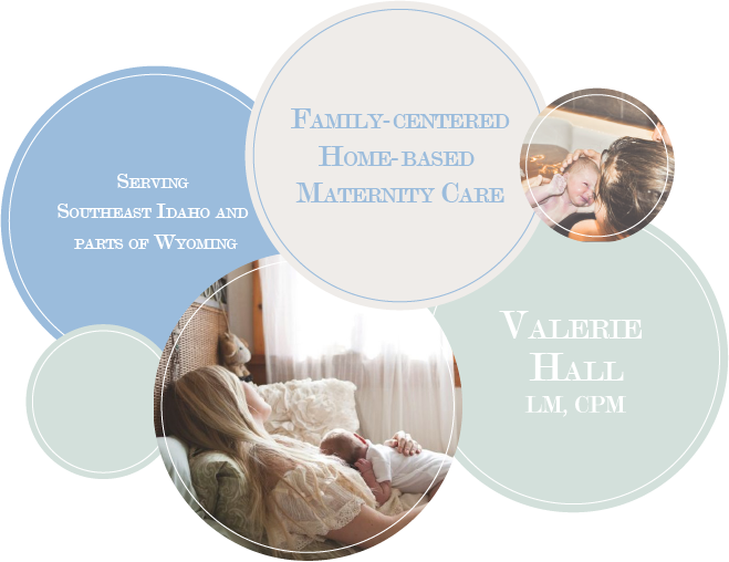 Home Birth, Valerie Hall, LM, CPM, Serving Southeast Idaho and Parts of Wyoming